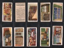 Tobacco cards cigarette cards Air Raid Precautions 1938